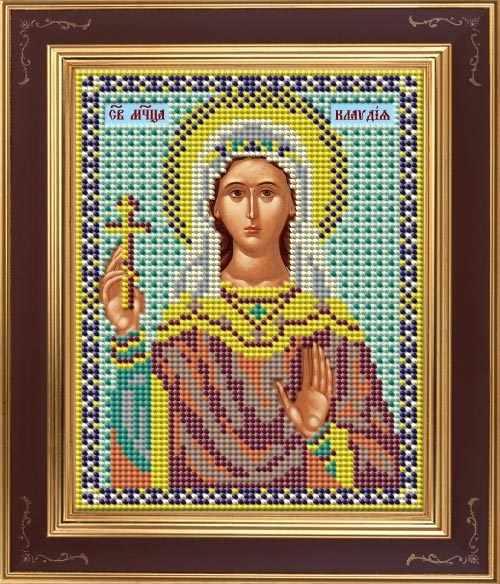 М 252 Св. Клавдия - набор (Galla Collection)