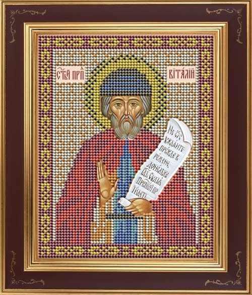 М 259 Преподобный Виталий Александрийский - набор (Galla Collection)