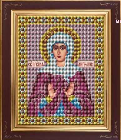 М 276 Святая Ангелина Сербская - набор (Galla Collection)