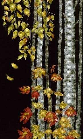 M273 Березовый листопад