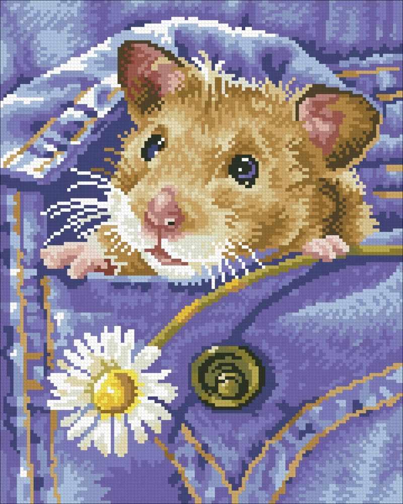 М336 Хомячок   - мозаика (Паутинка)