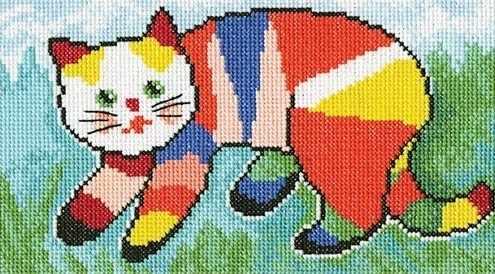 М533 Я покрасил кота...