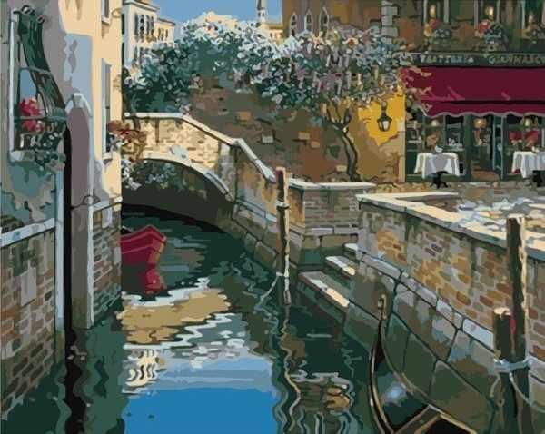 MG2007 Канал Венеции - раскраска (Menglei)