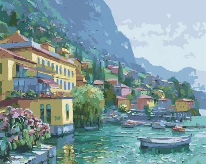MG2013 Побережье Италии - раскраска (Menglei)