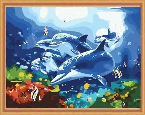 MG204 Танцуя под водой - раскраска (Menglei)