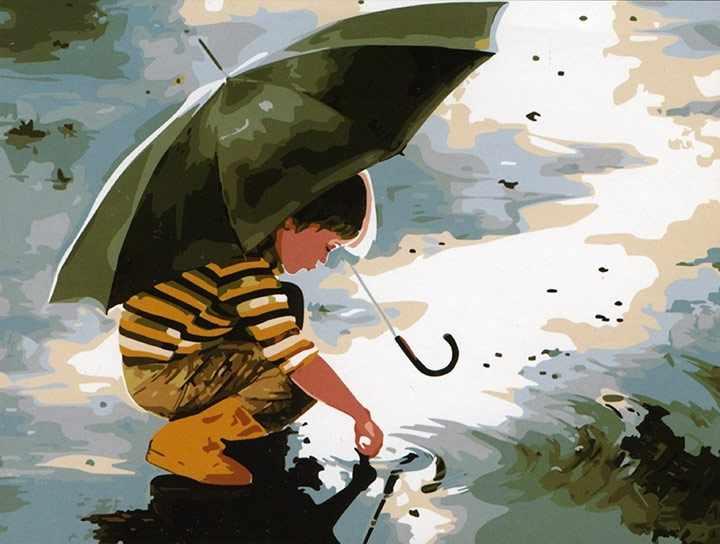 MG211 Счастливое детство - раскраска (Menglei)