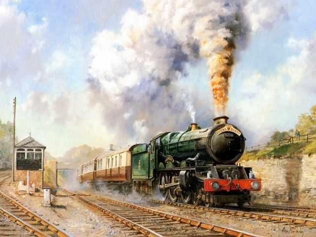 MG239 Поезд - раскраска (Menglei)