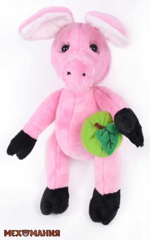 ММ-010 Розовая свинка - игрушка
