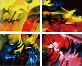 MMM4014 Буйство красок - раскраска (Menglei)