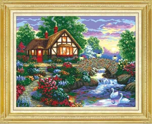 MO014 Дом у речки