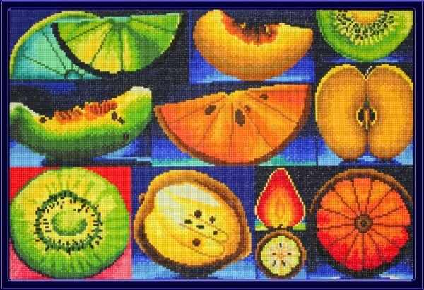 MO026 Алмазные фрукты