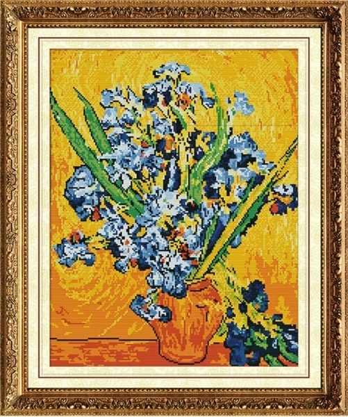 MO028 Ирисы в вазе, Ван Гог