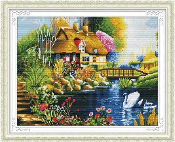 MO036 Дом у пруда