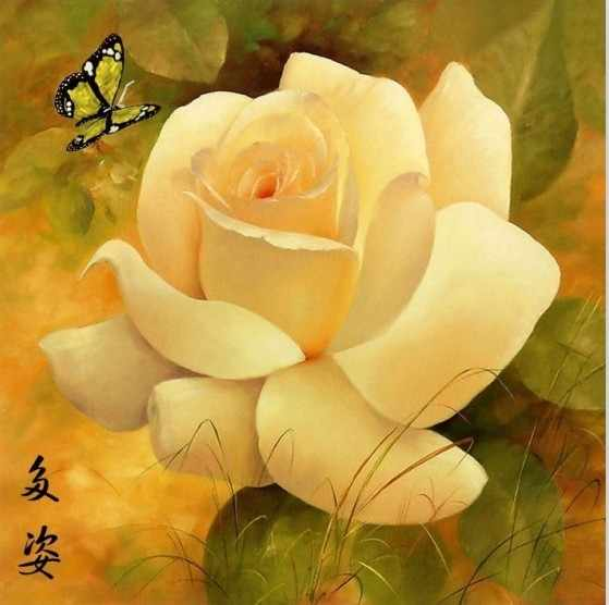 N-050 Цветок - мозаика милато