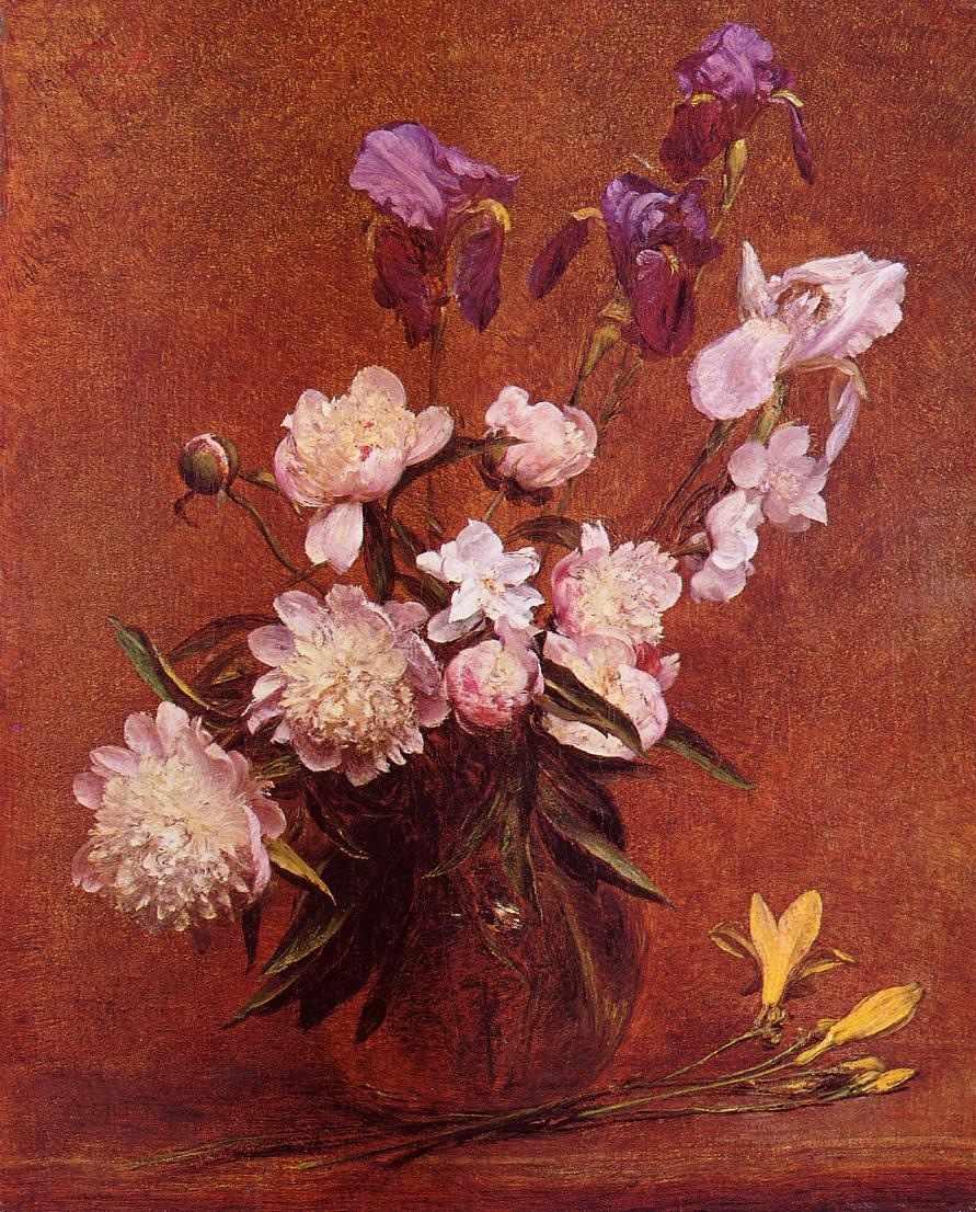N-071 Цветы - мозаика Милато