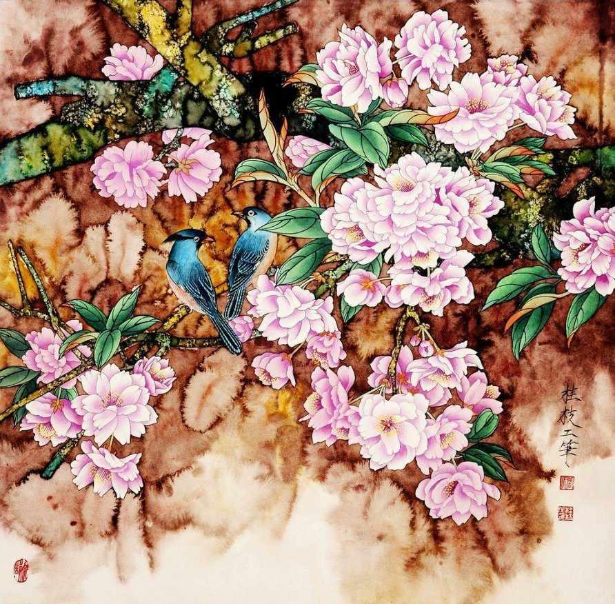 N-141 Цветы - мозаика Милато