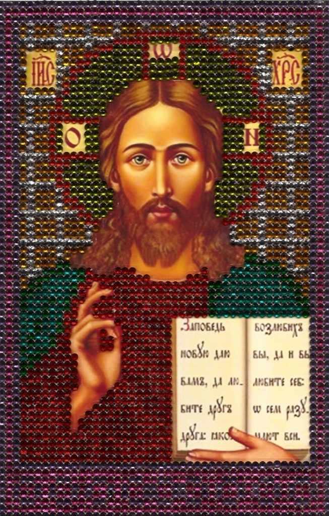 N-1514 Икона - мозаика Милато