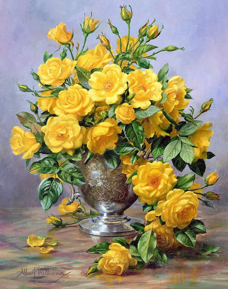 N-153 Цветы в вазе - мозаика Милато