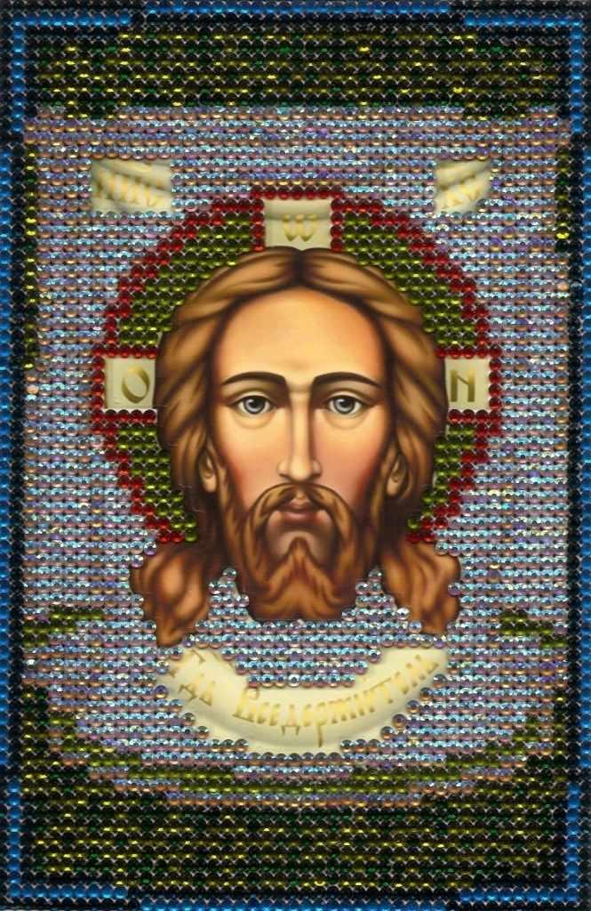 N-155 Икона Вседержитель - мозаика Милато