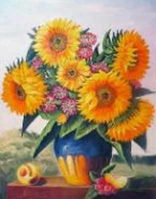 N-217 Цветы в вазе - мозаика Милато