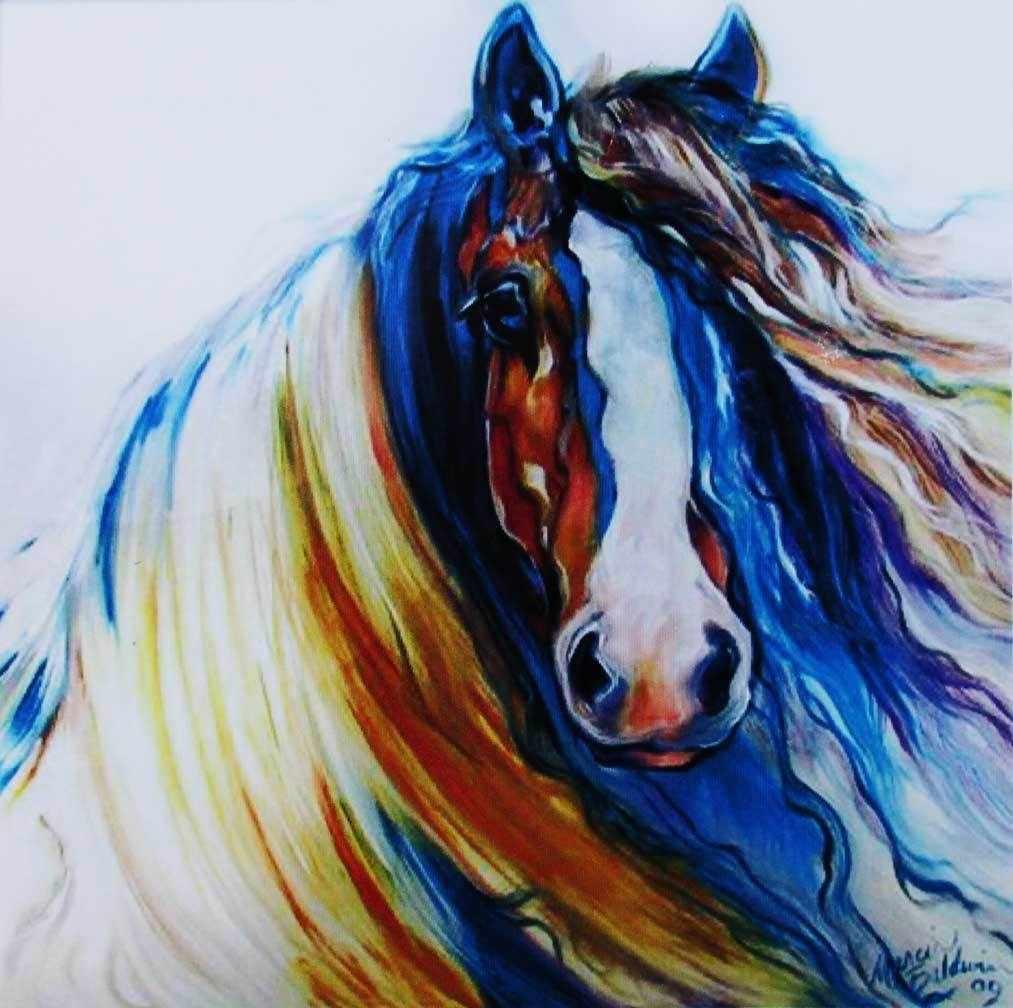 N-238 Лошадь - мозаика Милато
