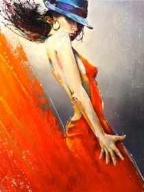 N-242 Страсть танца - мозаика Милато