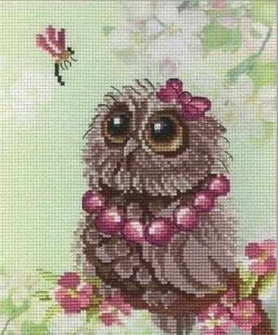 N-264 Совушки-времена года.Весна - мозаика Милато