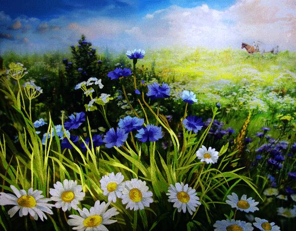 """N0059 """"Цветы луговые"""" (РисИгл)"""