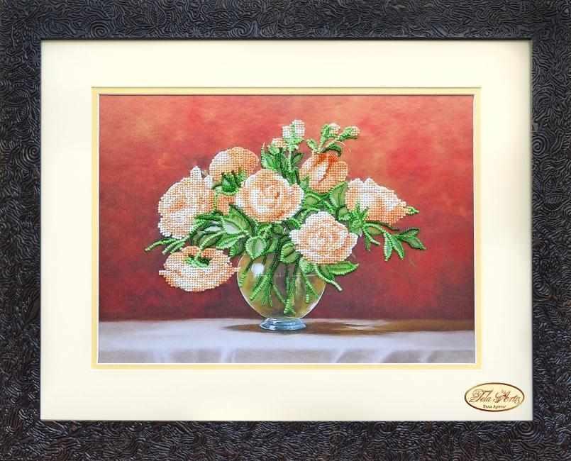 НГ-026 - Чайные розы - набор (Tela Artis)
