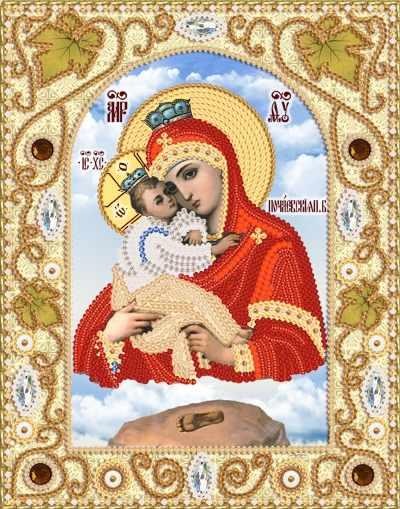 НИК-5312 Почаевская икона Божией Матери (Марiчка)