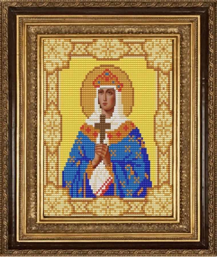 НИК 9148 Св. Ольга - схема для вышивания