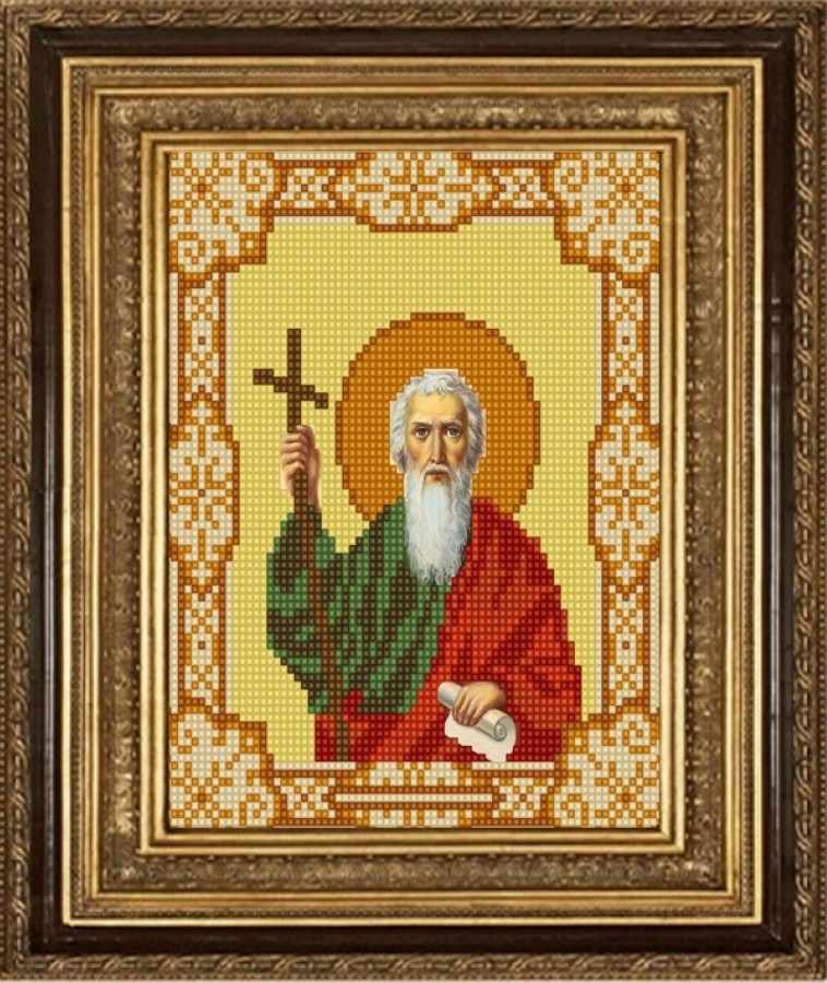 НИК 9158 Св. Андрей - рисунок на ткани