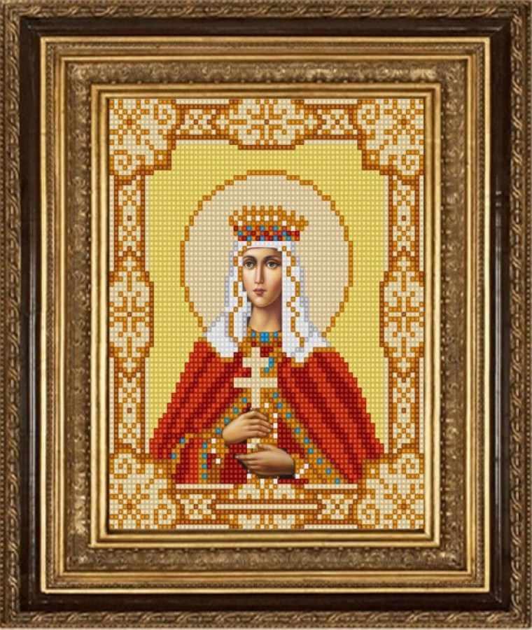 НИК 9159 Св. Людмила - рисунок на ткани