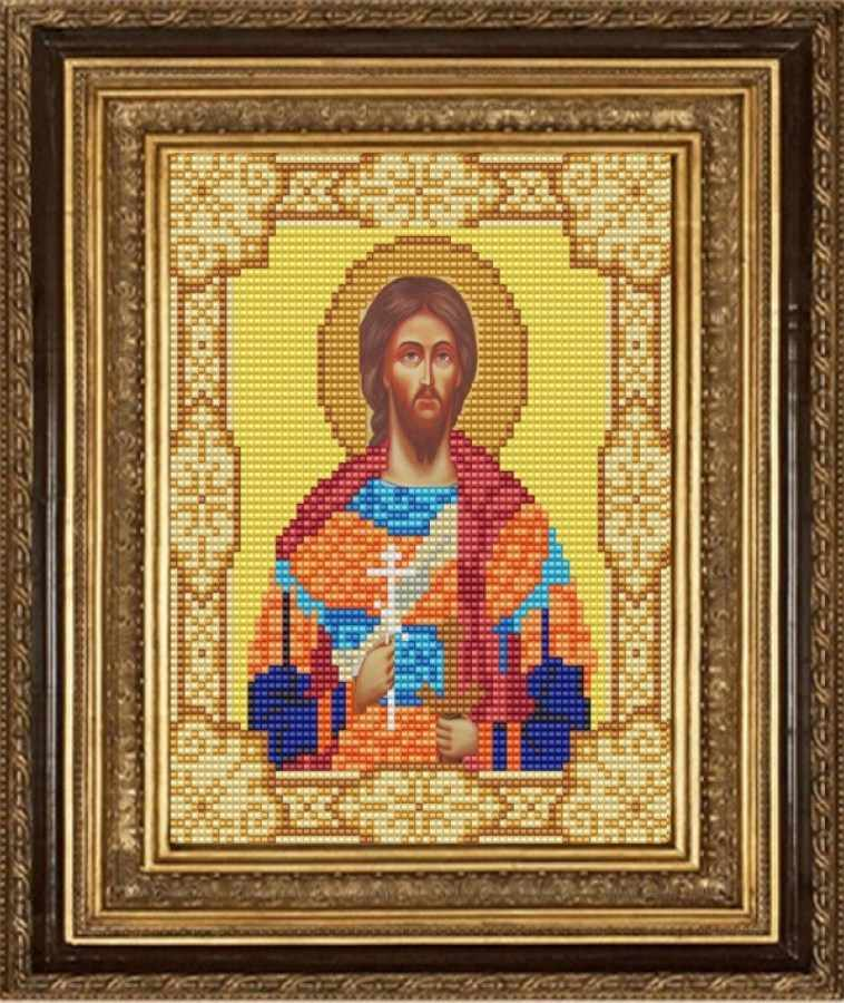 НИК 9166 Св. Никита - схема для вышивания