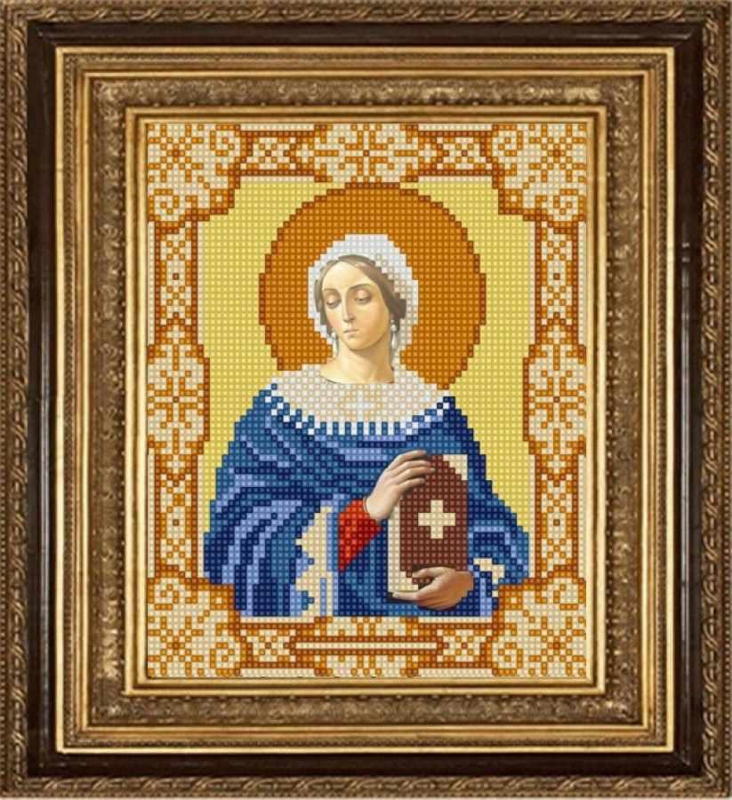 НИК 9167 Св. Анастасия - рисунок на ткани