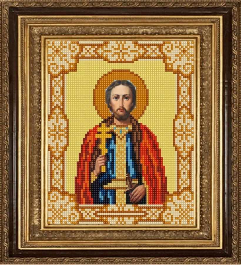 НИК 9171 Св. Игорь - рисунок на ткани