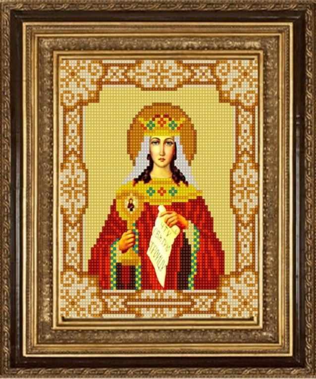 НИК 9174 Св. Варвара - схема для вышивания