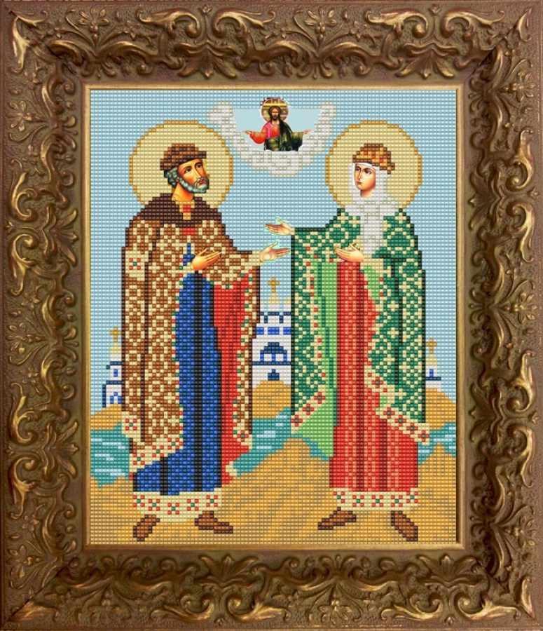 НИК 9222 Петр и Феврония - схема для вышивания