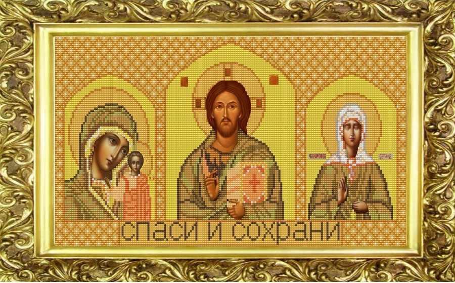 НИК 9223 Триптих Матрона - схема для вышивания
