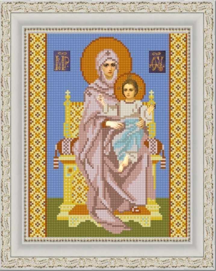 НИК 9227 Богородица на престоле - схема для вышивания