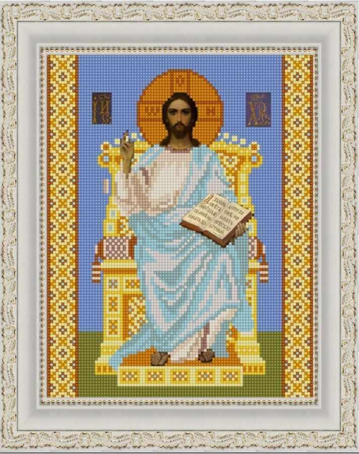 НИК 9228 Господь Вседержитель на престоле - схема для вышивания