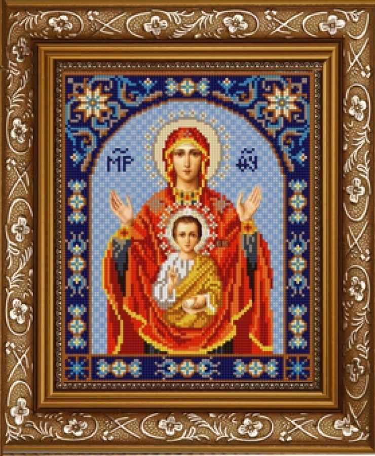 НИК 9231 Богородица Знамение - схема для вышивания