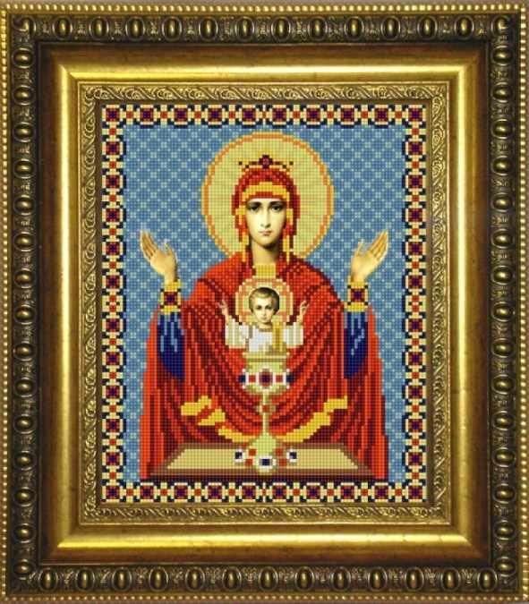 НИК 9240 Богородица Неупиваемая чаша - схема для вышивания