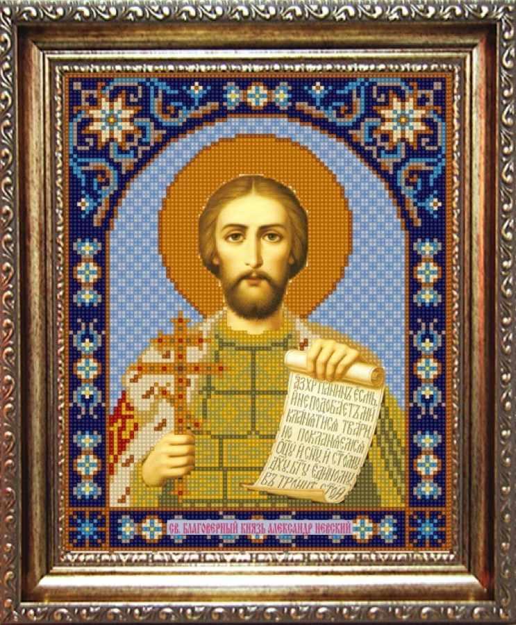 НИК 9306 Св. Александр Невский - схема для вышивания