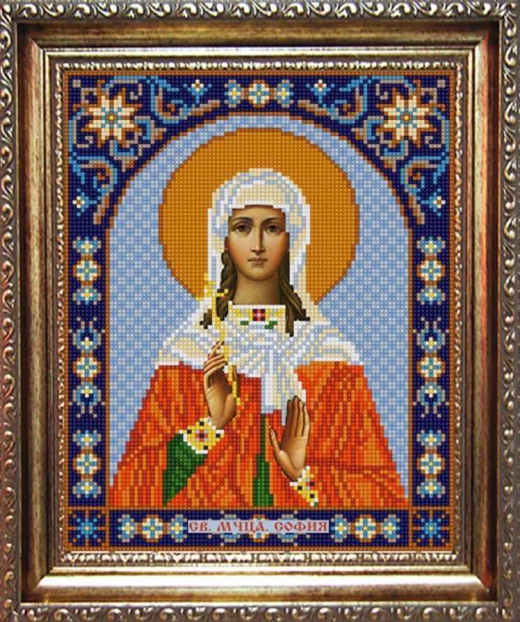 НИК 9313 Св. София - рисунок на ткани