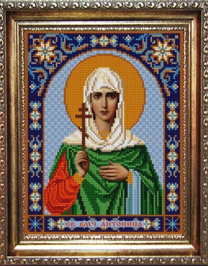 НИК 9326 Св. Антонина - рисунок на ткани