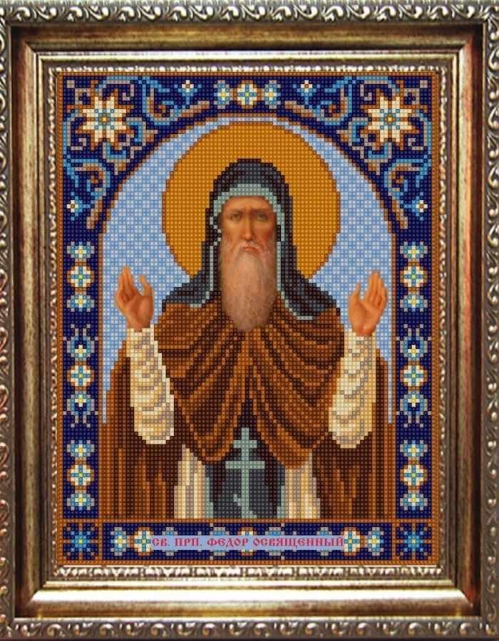 НИК 9331 Св. Федор - рисунок на ткани