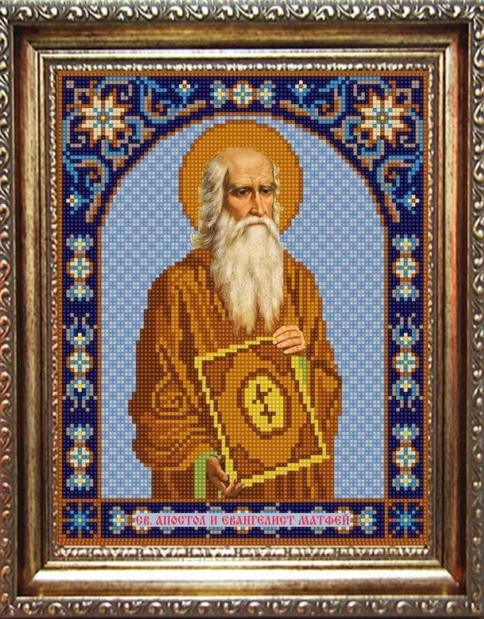 НИК 9333 Св. Матвей - рисунок на ткани