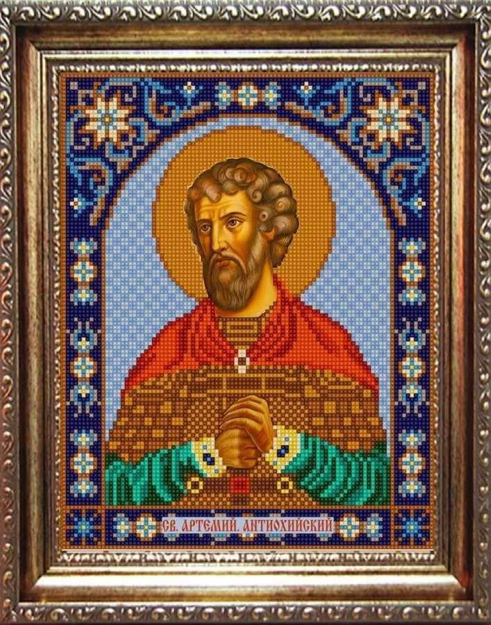 НИК 9339 Св. Артемий - рисунок на ткани