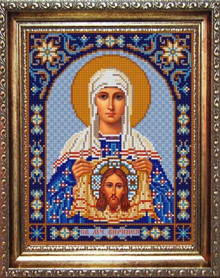 НИК 9350 Св. Вероника - рисунок на ткани
